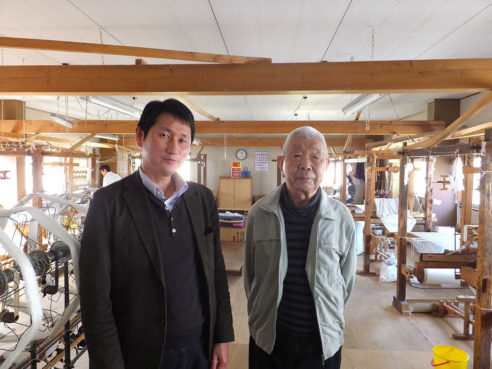 加賀・加藤改石氏 お母様の加藤志ゆんさんが戦後一人で牛首紬を守り続けた牛首紬の恩人