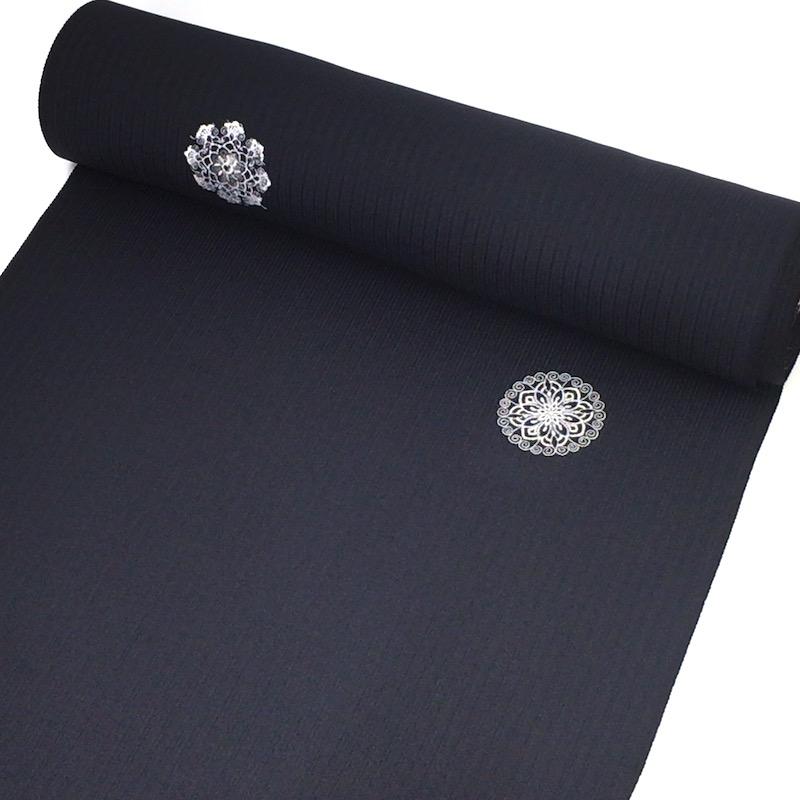 小紋紺色刺繍