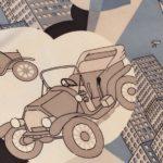 男羽裏車クラシックカー