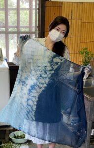 藍染 賀茂泉・相川さん